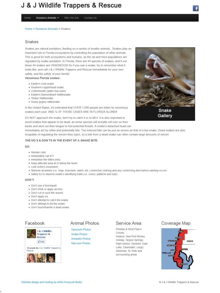 Hudson Website Design