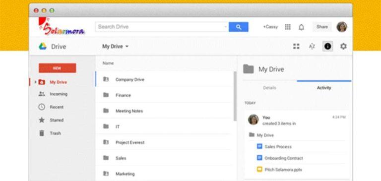 Googe Docs - Google Drive