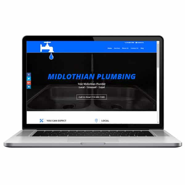 Plumbing Web Designer