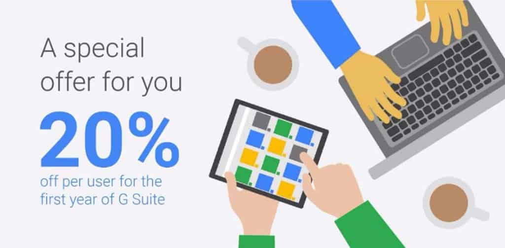 20% Off Google Apps for Work Promo Code
