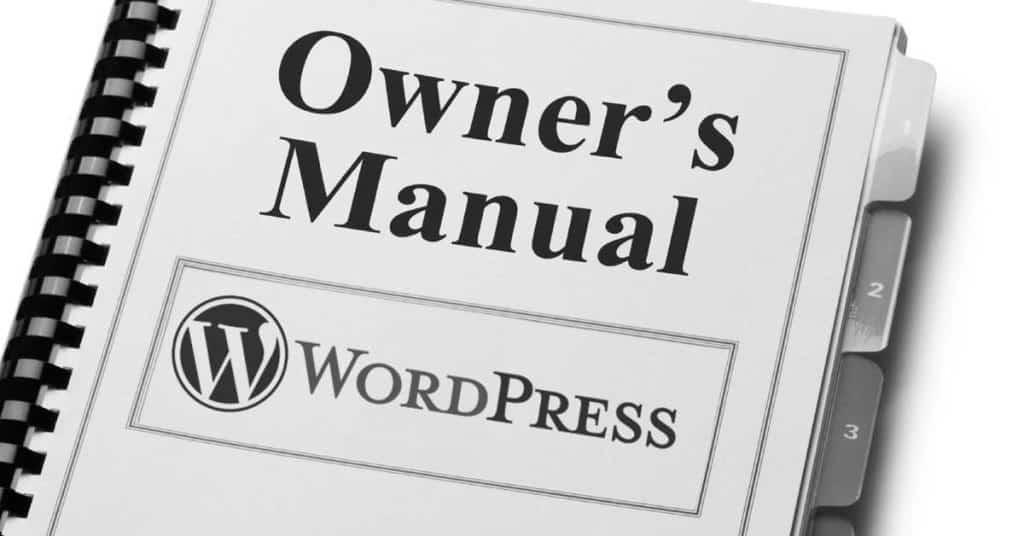 Free WordPress 4.7 Manual download