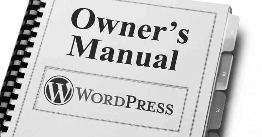 Free WordPress 4.7 Manual download